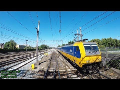 4K Cab Ride NL Dordrecht – Rotterdam Centraal – Den Haag HS / IC 2432 / 25-05-2017