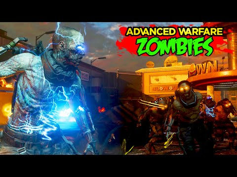 Exo Zombies - SOLO EASTER EGG WALKTHROUGH - Infection DLC