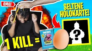*Omg* HOLO card SCHWARZER RITTER drawn ? | I OPEN original Fortnite BOOSTER PACKS!
