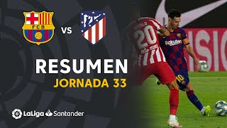 Resumen De Fc Barcelona Vs Atlético De Madrid 2-2