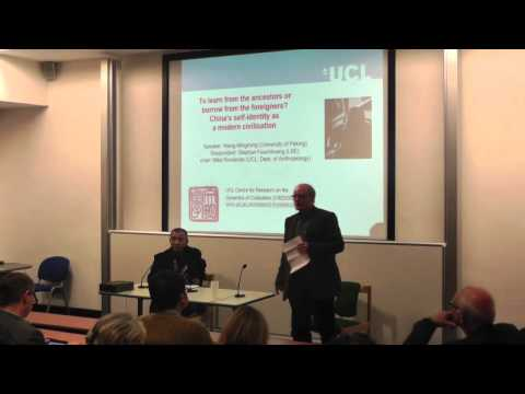 CREDOC Launch Lecture: China's self-identity as a modern civilisation
