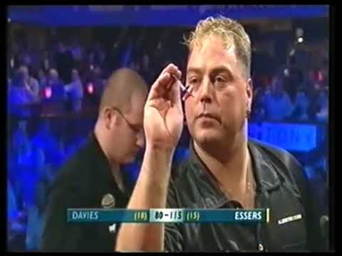 Albertino Essers Dartitis Attack - 2003 BDO World Championship
