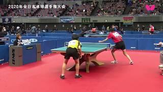 【2020年全日本卓球】デイリーハイライト(Day 1)吉山和希・張本美和・張本智和 thumbnail