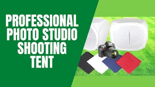 Professional Photo Studio Shooting Tent(Photo Studio Soft box Shooting Tent Description: Light tent is widely used in produce e-commerce website images, professional catalogue images and online ..., 2015-06-28T20:36:46.000Z)