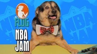 Felicia Day & Ryon Day Slam Dunk NBA Jam - The Flog