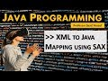 XML to Java Mapping using SAX