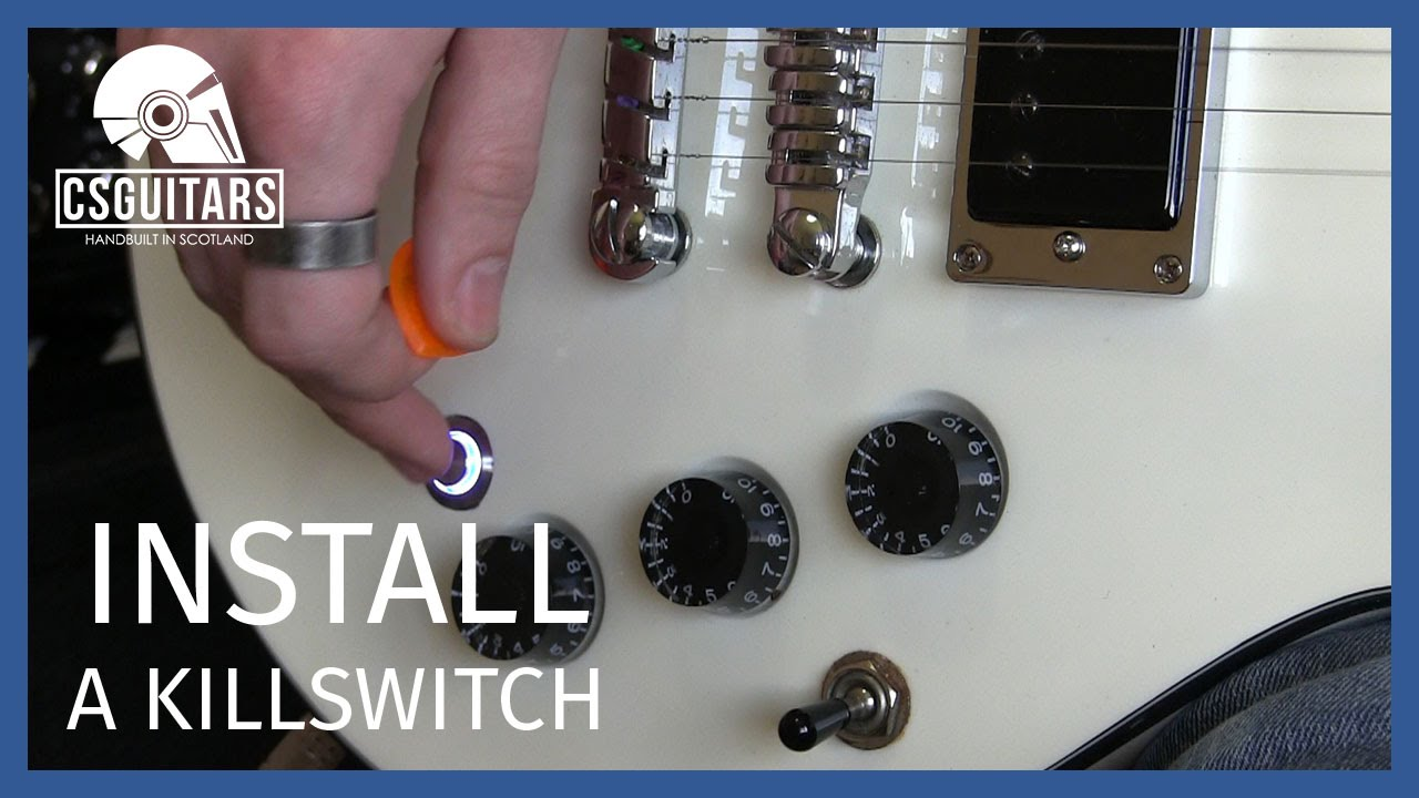 Install A Killswitch Guitar Basics Youtube Wiring Diagram 2 Humbuckers 3way Lever Switch 1 Volume Tone