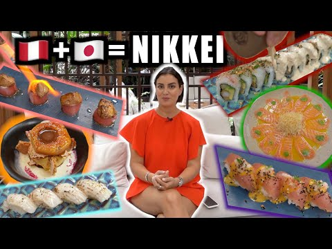 Nikkei Cuisine: the Japanese-Peruvian fusion SENSATION 🇯🇵🇵🇪