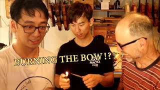 We Try Rehairing a Violin Bow