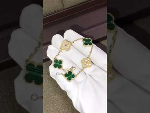 cheap Van Cleef & Arpels Vintage Alhambra bracelet, 5 motifs