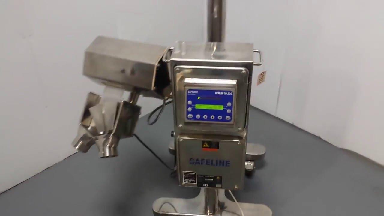 mettler toledo safeline tablex pro metal detector for tablets and rh youtube com safeline metal detector manual pdf mettler toledo safeline metal detector manual pdf