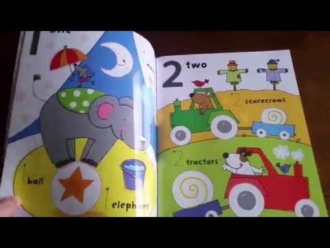 Get Ready For School abc and 123 Wipe-Clean Book: Usborne Books & More