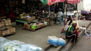 Kejetia Market in Kumasi (Pure African Market).