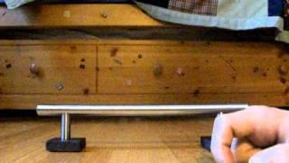 How To Make A Tech Deck Rail