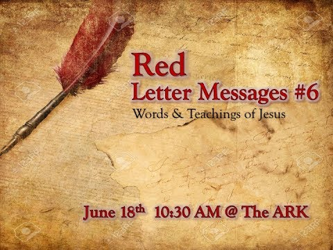 Red- Letter Messages #6