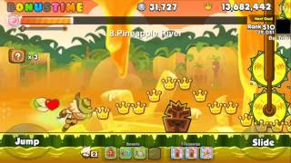 LINE Cookie Run - S8 Coin Farming with Adventurer Cookie (Combi 2)