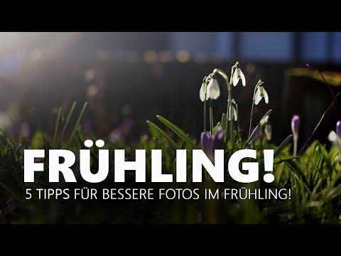 5 TIPPS - FOTOGRAFIEREN IM FRÜHLING