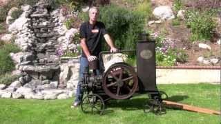 Lorenz - Antique Stationary Engine - Kromeriz, Ceskoslovenska Republika