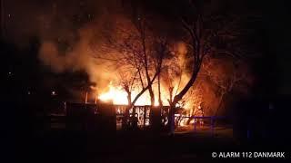 23.12.2019 - Bygn.brand-Udhus, fritliggende ved Brøndby