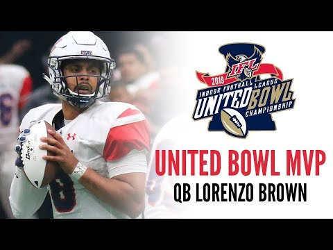 2019 United Bowl MVP - QB Lorenzo Brown