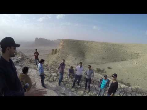 "Trip to Edge-Of-The-World ""Camel Trail"" near Riyadh"