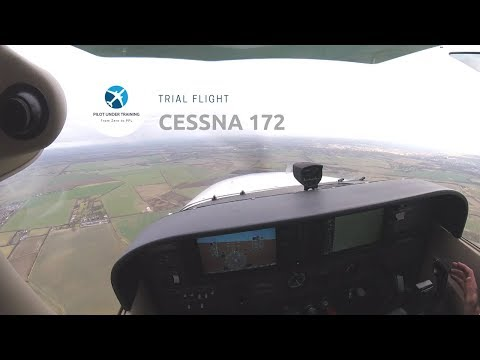 Trial Flight at Cambridge Airport (EGSC)