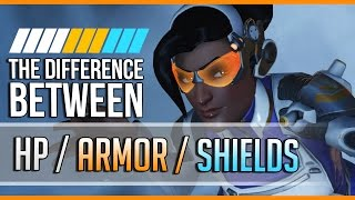 The Difference Between HP/SHIELDS/ARMOR (Overwatch Guide)