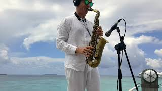Night and day - Cole Porter - alto sax - Maldives lounge - free score