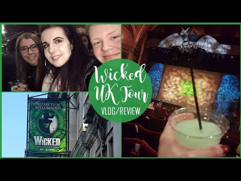 WICKED UK TOUR!💚 (£15 Premium Tickets in Liverpool!) Vlog & Review!