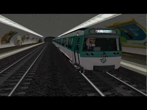 MSTS Metro Parisien - Ligne 8 - Balard - Créteil Préfecture
