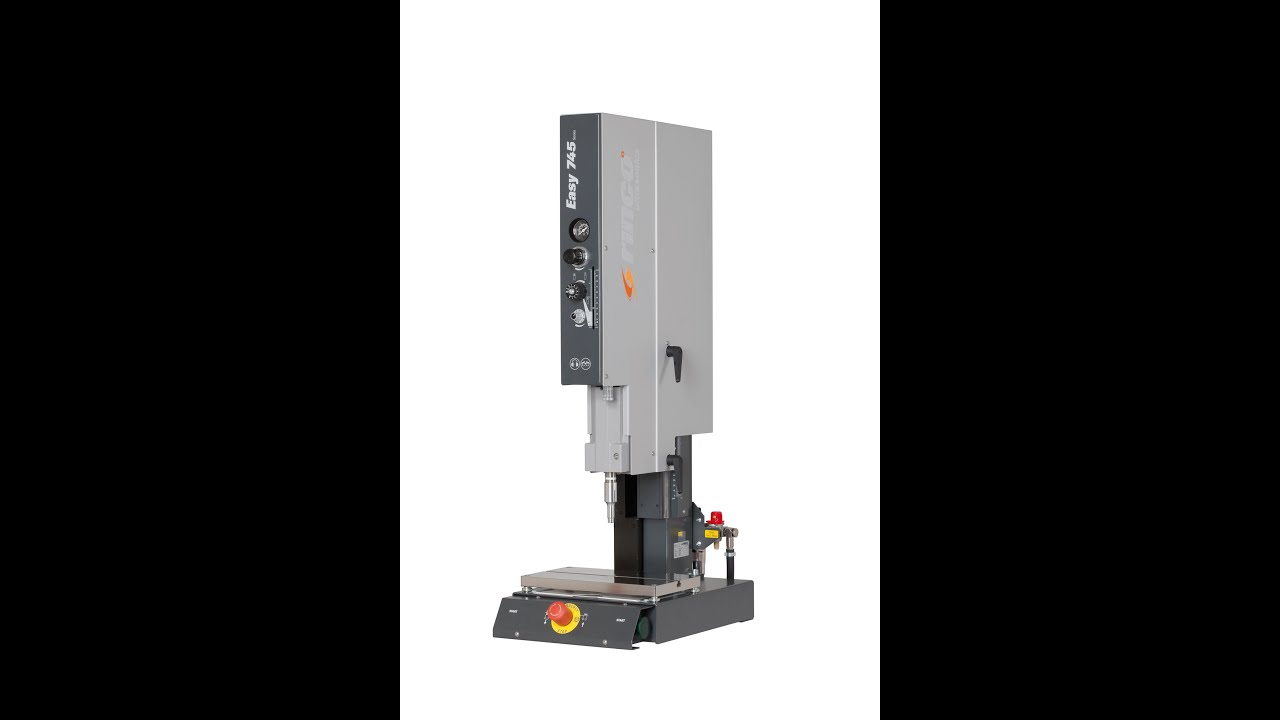 Rinco Ultrasonic Welding Machine Easy Series Youtube
