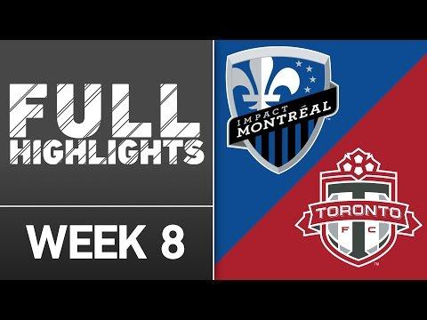 HIGHLIGHTS: Montreal Impact vs. Toronto FC | April 23, 2016
