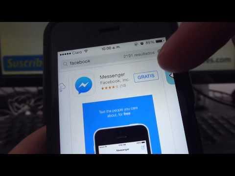 Cómo descargar la aplicación de Facebook para iPhone 5S 5C 5 4 iOS 7 español Channeliphone