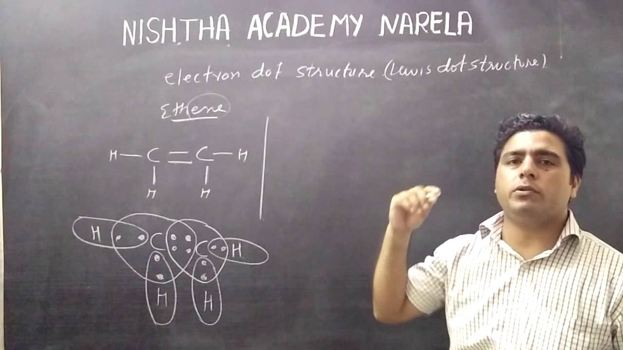 10th chemistry carbon and its compound electron dot structure Lewis in hindi