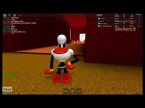 Undertale 3d Boss Battles Halloween Papyrus!