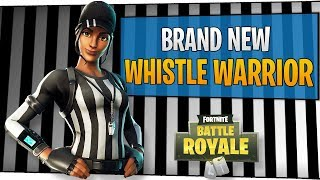 Fortnite - Brand New Whistle Warrior Skin! - November 2018 | DrLupo