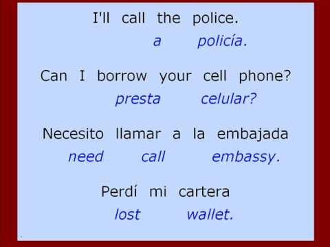 Exercises for SPANISH COURSE - Translation sentences: PROBLEME ...