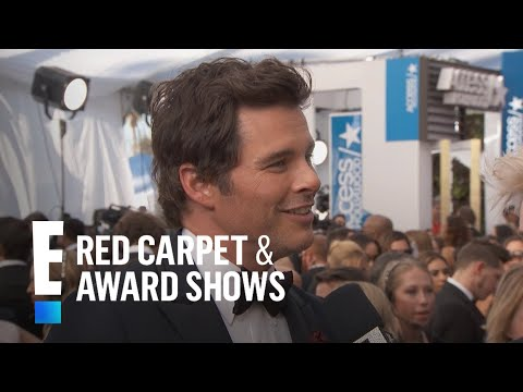 James Marsden Takes Mini-Me Son to 2017 SAG Awards | E! Live from the Red Carpet