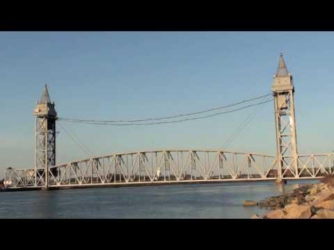 Cape Cod Canal Railroad Bridge - YouTube