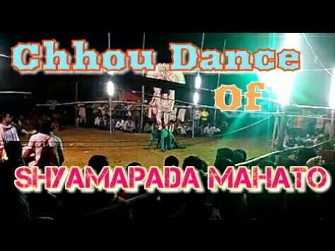 Chhou dance of shyamapada mahato