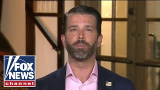 Don Jr. calls out 'hypocrisy' of having protests during a pandemic
