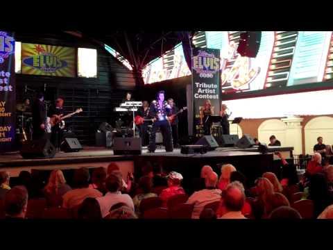 "Sean Martin - ""Burning Love"" - Ultimate Elvis Tribute - Las Vegas 2013"