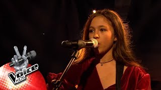 Noa - 'Way Down We Go' | Halve Finale | The Voice Kids | VTM