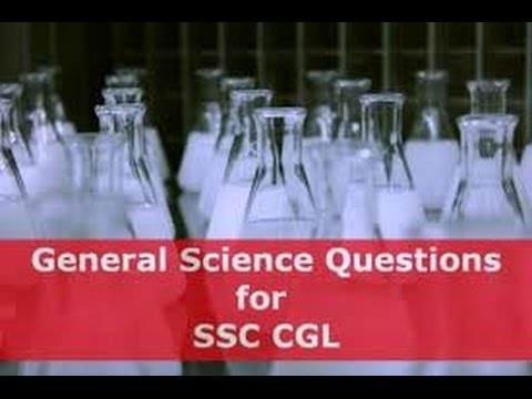 SSC CGL General Science