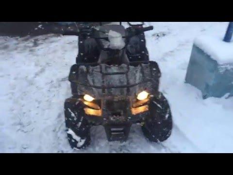 Обзор подросткового квадроцикла MOTAX ATV A-54 в стиле Yamaha Grizzly