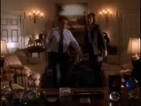 The West Wing - 1.18 - C.J. gets in Bartlet's face