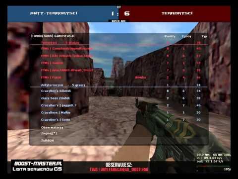 Game4Fun [Turniej 5on5] Mecz FYMs VS CrazyBoy's 1