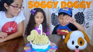 We played the Soggy Doggy Game   DID WE LIKE IT? FAMILY FUN   PLAYING BOARD GAMES    Toy challenge