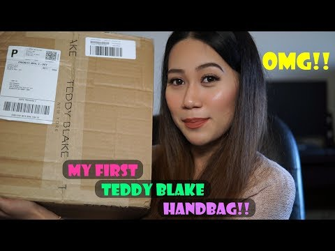 Unboxing a New Release Teddy Blake Handbag | Eva Gold 13