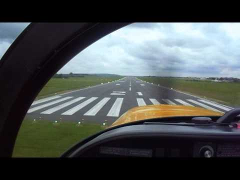 Aerobatics -Solo flight in Slingsby T67 Firefly aircraft at Cranfield University